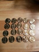 Presidential Dollar Coins 2007 To 2011. Mint Set. Uncirculated