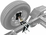 Boat And Utility Enclosed Trailer Spare Tire Mount Carrier Wheel Cargo Holder New
