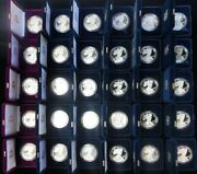 Complete 1986 -2019 American Silver Eagle 33 Proof Coins Set All Boxand039s + Coaand039s