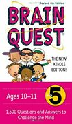 Brain Quest Grade 5 1,500 Questions And Answers To Ch... By Feder, Chris Welles