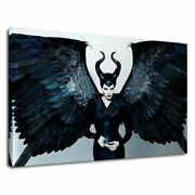 Maleficent With Open Wings Cool Angelina Jolie Posters Or Canvas Framed Wall Art