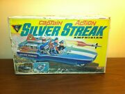 Vintage 1967 Ideal Captain Action Silver Streak Box Only
