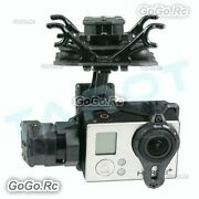 Tarot T4-3d Dual Shock-absorber 3-axis Brushless Gimbal For Gopro Hero 4 Tl3d02