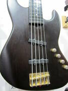 Used 1990s Moon Jj-5 Mij Special Order Active Bass 5 String Bartolini Long Scale