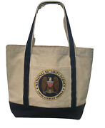 National Security Agency Laptop Tote Canvas Bag Purse