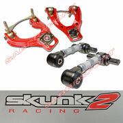 Skunk2 Pro Plus Front + Pro Rear Camber Kit For 92-95 Civic And 94-01 Integra