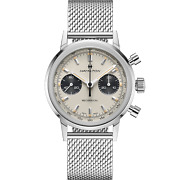 Hamilton American Classic Intra-matic Chronograph H White Dial Steel Mens Watch
