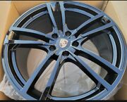 22and039and039 Wheels Fit Porsche Cayenne Gloss Black Panamera With Tires Audi Q7 Touareg