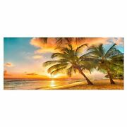 Designart And039barbados Landscapeand039 Photography Metal Wall Art Small