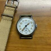 Elgin Ww2 Us Army Vintage Watch Ord Dept Usa Engraving 30s 40s Rare