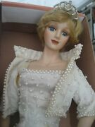 Collectible Doll-ashley Belle-princess Diana-hand Painted + Sewn Dress-limit