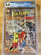 1964 Brave And The Bold 54 Cgc 5.0 1st Teen Titans Ow Pages