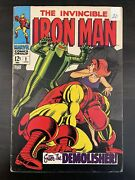 Iron Man 2-10. 9 Books. Marvel / Silver Age. Includes Iconic Cover 9