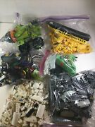 Lego Lot 5+ Pounds Legos Different Sets Bagged Separately Boat/ Horse/ Tank