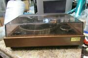 Vintage Sony Stereo Turntable Ps-5520 W/shure 3x - As Is For Parts Or Repair