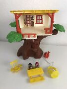 Vintage Weebles Tree House Toy Hasbro 1974 Accessories Picnic Table Characters