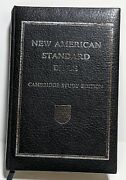 New American Standard Bible Cambridge Study Edition 1977 References Dictionary
