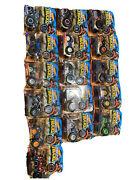 Hot Wheels Monster Trucks Complete Set 1-16 With Collectible Wheel.