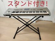 Korg 1st Generation Triton 61 Key With Keyboard Stand Dtm Midi From Japan