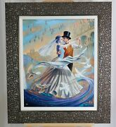 2019 Michael Cheval Dance With The Wind Gallery Framed Hand Signed L.e. 19/200