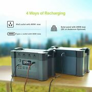 Allpowers Portable Power Station 2000w Power Source Battery For Outdoors Camping