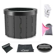 Sturdy Portable Folding Toilet And Female Urination Device, Disposable Urinal Bags