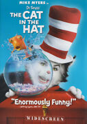 Dr. Seussand039 The Cat In The Hat Mike Myers Wi New Dvd