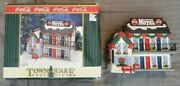 Coca-cola Coke Town Square Collection Village Sleepytime Motel