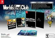 World's End Club Deluxe Edition For Nintendo Switch [new Video Game] Deluxe Ed