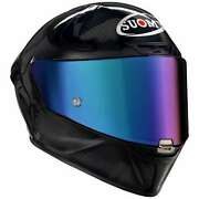 Suomy Sr-gp Carbon Glossy Motorcycle Helmet - New Free Shipping