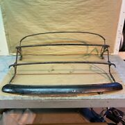 Original 1971-1980 Mg Mgb Convertible Top Hood Frame With Headrail And Latches
