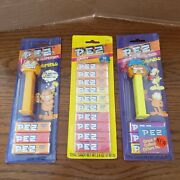 Vintage Garfield Arlene Lot Of 6 Pez Dispensers With Candy Sealed Package