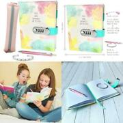 Life Is A Doodle Pu Leather Locking Journal For Girls - Diary Gift Set Includes