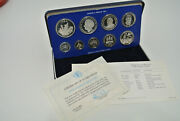 1984 Jamaica Proof Set - 9 Coin Sealed Proof With Box - Key Dates Rare