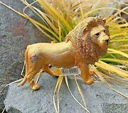 Schleich 85th Anniversary Gold Lion Special Edition - Nwt Collectible Rare