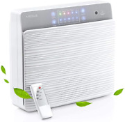 Missue Hepa Air Purifier For Home, Wall-mounted Desktop Air Filter With Aroma