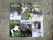 Lot 6 Breyer Just About Horses Magazines Jah 2001 Full Year Gypsy Vanner Cloud