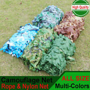 Camouflage Netting Camo Net Uk Hunting Shooting Camping Army Green Hide Cover
