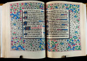 Book Of Hours, Use Of Troyes And Sens - 1470 Ad - Facsimile