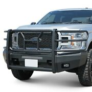For Ford F-150 18-20 Bumper Elevation Series Full Width Black Front Hd Bumper W