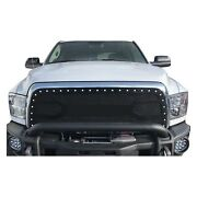 For Ram 3500 13-18 Status Grilles 1-pc Factory Style White Mesh Main Grille