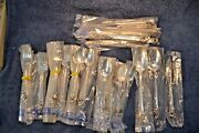 New Reed And Barton Emperor Silverplate 44 Piece Lot Forks Spoons Knives Serving
