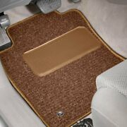 For Toyota Tacoma 16-17 Rhino Auto Mat Carpeted 1st And 2nd Row Tan Floor Mats