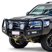 For Toyota Land Cruiser 16-20 Front Bumper T13 Outback Series Full Width Black