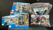 Lego City Bank And Money Transfer 3661 Complete