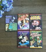 Lot 6 Vintage Movies Dvds Hopecooper Abbott And Costellostewart Lombard
