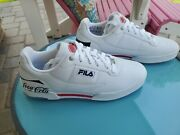 Menand039s Fila Coca Cola Gym Shoes Sneakers One-of-a-kind Salesman Sample Size 9