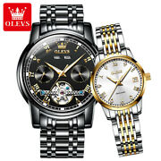 2pcs His And Her Luxury Gifts Couple Watches Womenand039s Men Automatic Mechanical