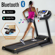 Best_ 3.25 Hp Electric Motorized Power Folding Running Machine Home Gym_homes