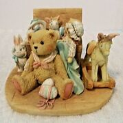 Cherished Teddies Christopher Old Friends Are The Best Friends Figurine